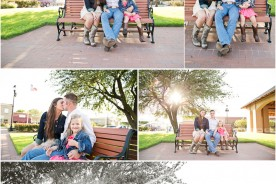 Downtown Celina Engagement Photos