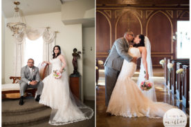 CJ and Jesse Romantic Couple Portraits at Le Beaux Chateau Wedding by Dallas Wedding Photographer