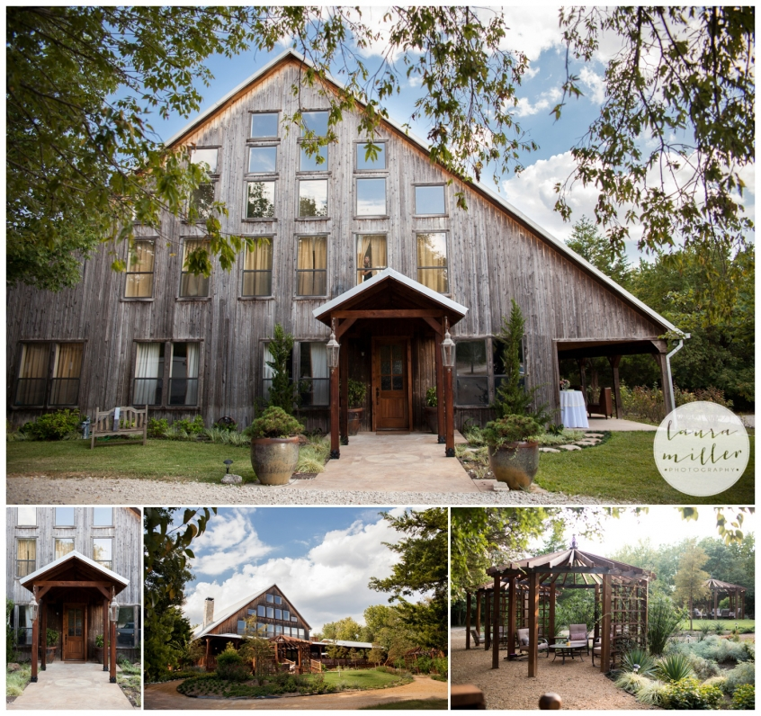 Beautiful and Rustic Outdoor and Barn Wedding Venue in Allen Texas at Avalon Legacy Ranch by Dallas Wedding Photographer Laura Miller